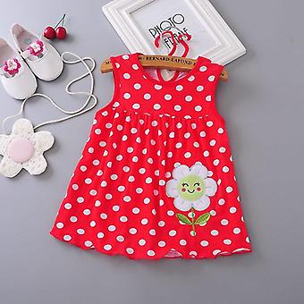 Sleeveless Floral Summer Baby Dress (set-1)