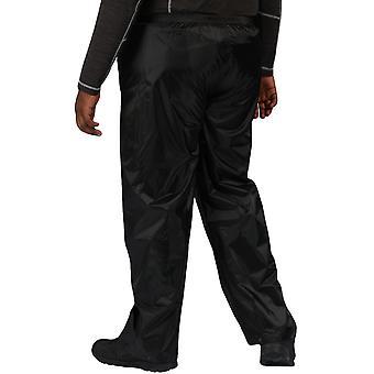 Regatta Mens Stormbreak Outdoor Waterproof Walking Hiking Overtrousers - Black