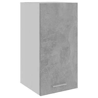 Hängeschrank Beton Grau 29,5x31x60 cm Spanplatte