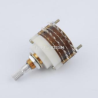2 Pole 23 Stap Rotary Switch Attenuator Volume Control Pot Potentiometer Diy
