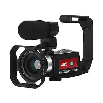 Video Camera With Microphone, Camcorder For Live Stream, Webcam, Wifi Remote