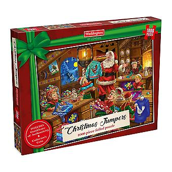 Christmas Jumpers 1000 Piece Jigsaw Puzzle