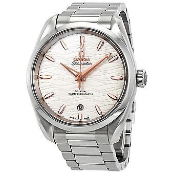 Omega Seamaster Aqua Terra Automatic Opaline Silvery Dial Men's Watch 220.10.38.20.02.002
