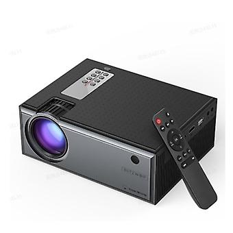 Lcd Projector, Lumens Support Input Multiple Ports Portable Smart Home Theater