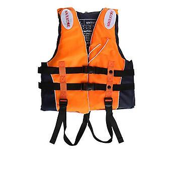 Homens e mulheres nadando colete salva-vidas, colete de pesca marinha