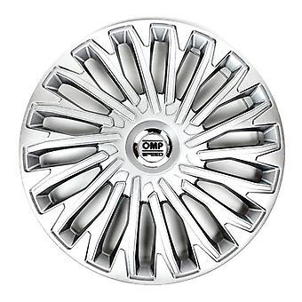 """Hubcap OMP Stinger Speed Silver 13"""" (4 uds)"""