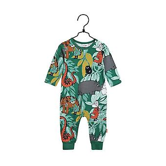 Mumin Pyjamas I Djungeln (Grön) 56 cl