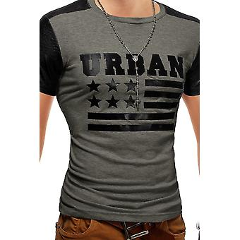 T-Shirt Urban Nation Flagga