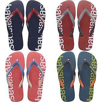 Havaianas Unisex Adults Logomania Summer Beach Sandals Thongs Flip Flops