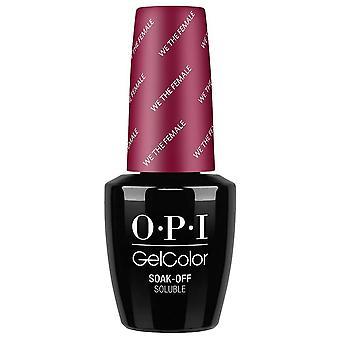 OPI OPI GelColor Gel Polish Washington DC Collection - We The Female
