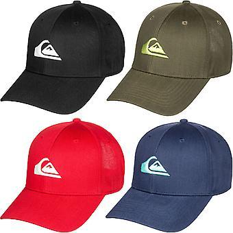 Quiksilver Boys Kids Decades Snapback Adjustable Baseball Cap Hat - One Size