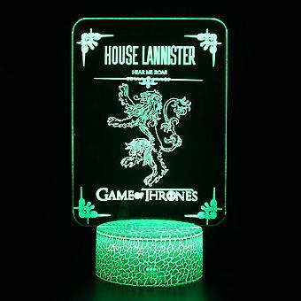 3D LED Night Light, 16 kolory dekoracji pulpitu, USB Touch & Remote Night Lamp, Najlepszy prezent urodzinowy dla chłopców, dziewcząt, dzieci