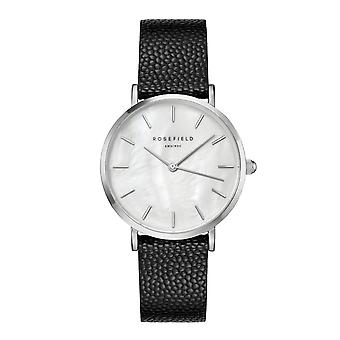 Rosefield reloj de mujer relojes UWBCSS-U26 - Pulsera de cuero negro