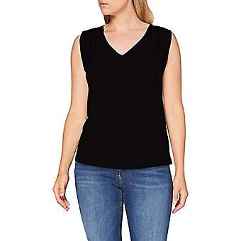 United Colors of Benetton 3AERE4242 T-shirt, Black 100, S Woman