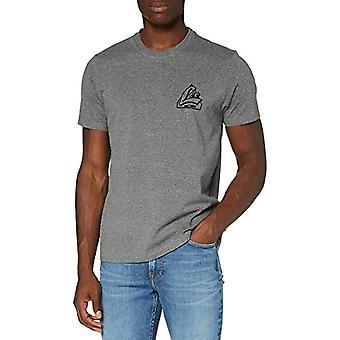 Lee SS Tonal Graphic Tee T-Shirt, Mörkgrå äpplen, XXL Mäns