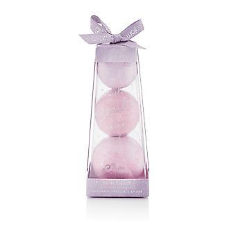 Estilo &Grace Glitz &Glam Fizzer Pyramid Juego de regalos 35G + 50G + 80G Bath Fizzer