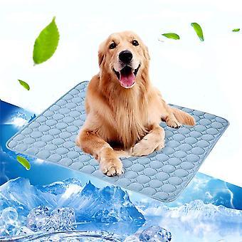 Hond Mat Koeling Zomer Pad Mat Voor Honden Kat Deken Bank Ademend Huisdier Hondenbed Zomer Wasbaar Voor Kleine Middelgrote Grote Honden Auto