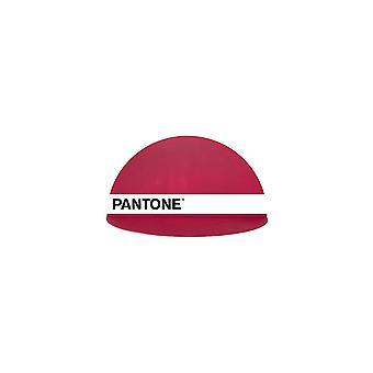PANTONE Mensola Shelfie Colore Bordeaux, Bianco, Nero, in Metallo L30xP15xA15 cm