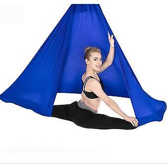 Воздушная йога гамак премиум шелк качели антигравитационные пояса