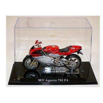 MV Agusta 750 F4 modelo Diecast moto