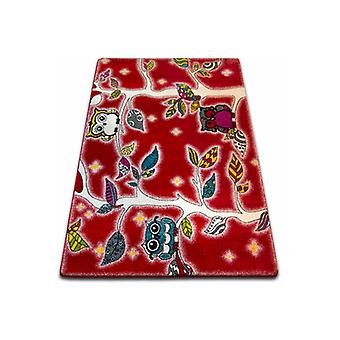 Rug KIDS Forest red C427