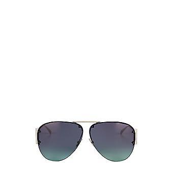 بوتيغا فينيتا BV1066S النظارات الشمسية الفضية الإناث