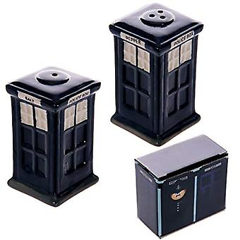 Police Box Salt and Pepper Set