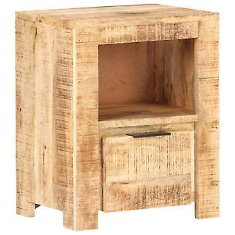 Nachttisch 40X30X50 Cm Raue Mango Holz