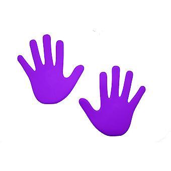 Hand Floor Marker (Pack of 6) - Purple