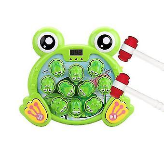 Interaktiv whack en frø spil, holdbare dunkende legetøj sjove gaver til børn