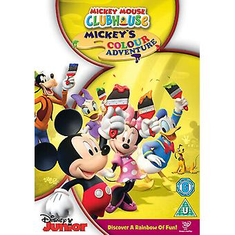 Mickey Mouse Clubhaus Mickeys Colour Adventure DVD (2010) Mickey Mouse Zertifikat Region 2