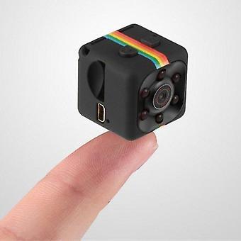Sq11 Mini bærbart kamera 1080p Hd-videokamera lithiumbatteri sports-dvd-kamera