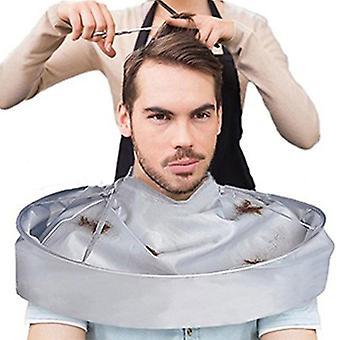 Adult Shaving Haircut Apron Hair Dyeing Shawl Hairdressing Salon Cloak