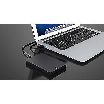 320GB Dunkelgrau Externe tragbare Festplatte USB 3.0 super schnelle Übertragungsgeschwindigkeit für