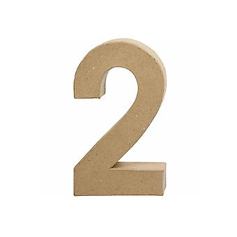 20,5cm papel grande Mache Número 2 | Formas de Papel Mache