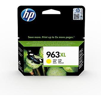 HP 963XL Yellow Original High Capacity Ink Cartridge, High (XL) Yield, Pig