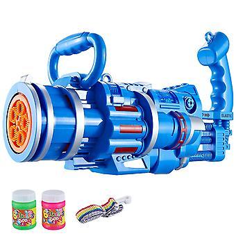2-in-1 sähköinen kuplakone kupla lelu Gatling kupla gun lasten lelu