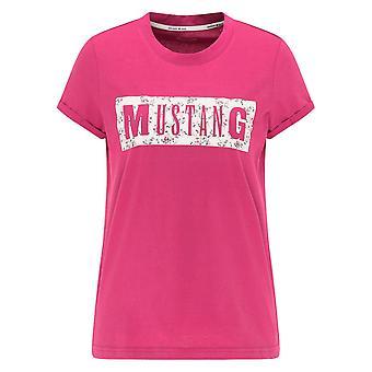 Mustang Skor Alina C Print 10107538354 universell hela året kvinnor t-shirt