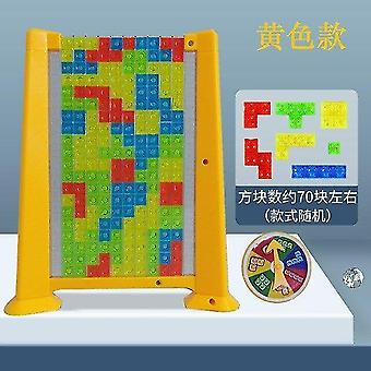 Tile games tetris game standable intelligence colorful puzzle brain teasers toys fidget toys |strategy games