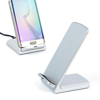 Chargeur Batterie Qi Induction Station Socle Dock Prend en charge Smartphone Wh