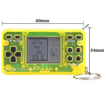 Super mini kapesní herní hráč klasické retro dekomprese zmírňuje náladu tetris video herní konzole
