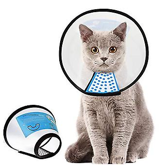 Supet Cat Cone Adjustable Pet Cone Pet Recovery Collar Comfy Pet Cone Collar Protective Collar For After Surgery Anti-bite Lick Wound Healing Safety P