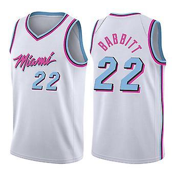 Miami Heat Jimmy Butler #22 Men's Basketball Jersey No.22 Sport Shirts Sleeveless T-shirt