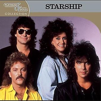 Starship - importer des USA Platinum & Gold Collection [CD]
