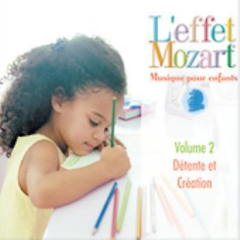 L'Effet Mozart Musique Pour Enfants - L'Effet Mozart: Musique Pour Enfants, Vol. 2 [CD] USA import
