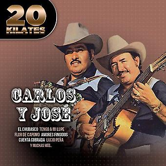 Carlos Y Jose - 20 Kilates [CD] USA import