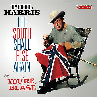 Phil Harris - South Shall Rise Again/You're Blase [CD] USA import