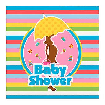 Baby Shower Party 20 Peçete Bebek Partisi Babyshower
