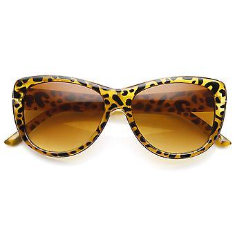 المرأة المتضخم نظارات كاتي الإطار المعدني والبلاستيك
