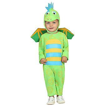 Costume de bébé costumes bébé Dragon vert